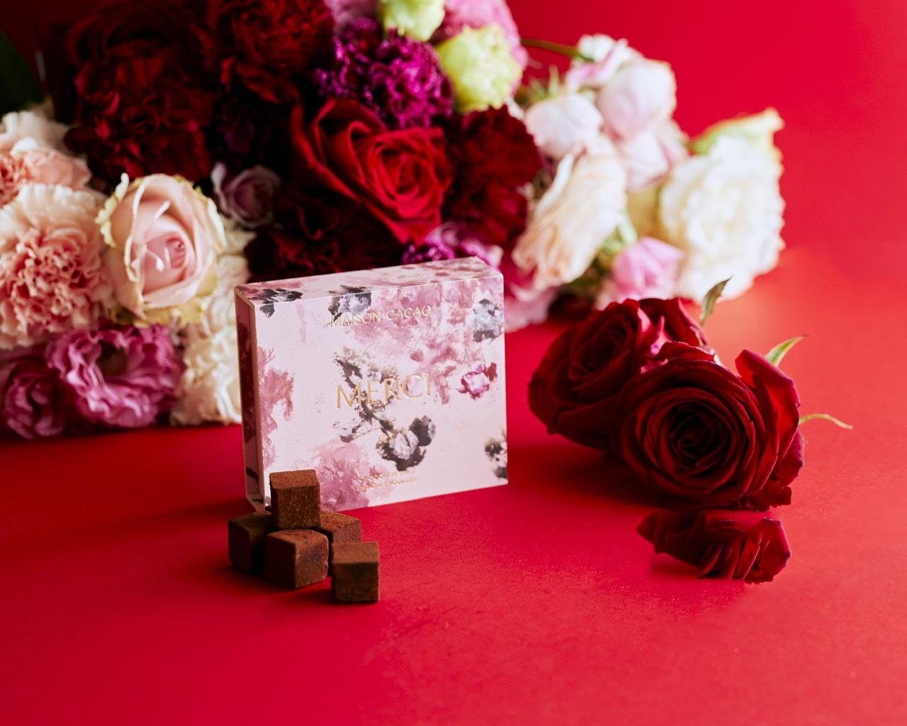母の日ギフトにおすすめ『MAISON CACAO』の母の日限定「アロマ生チョコレート」