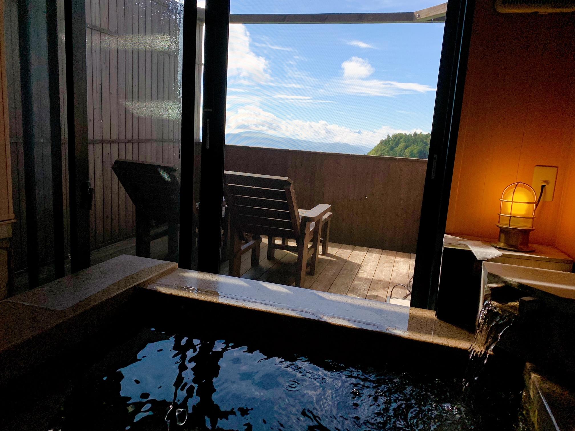 【絶景宿】《満天の星空》に出会えるツアーと《貸切半露天風呂》に癒される標高2000mの宿♡_4