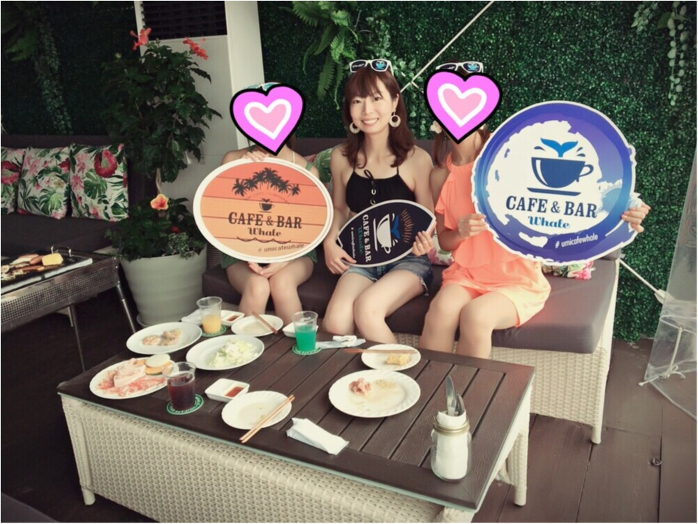 """海の家+カフェ=""""海カフェ""""「CAFE&BAR Whale」でカジュアルリゾート気分!!_11"""