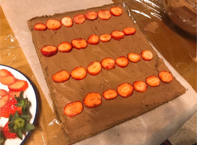 【#手作りクリスマスケーキ】簡単!ブッシュドノエルの作り方♡_5