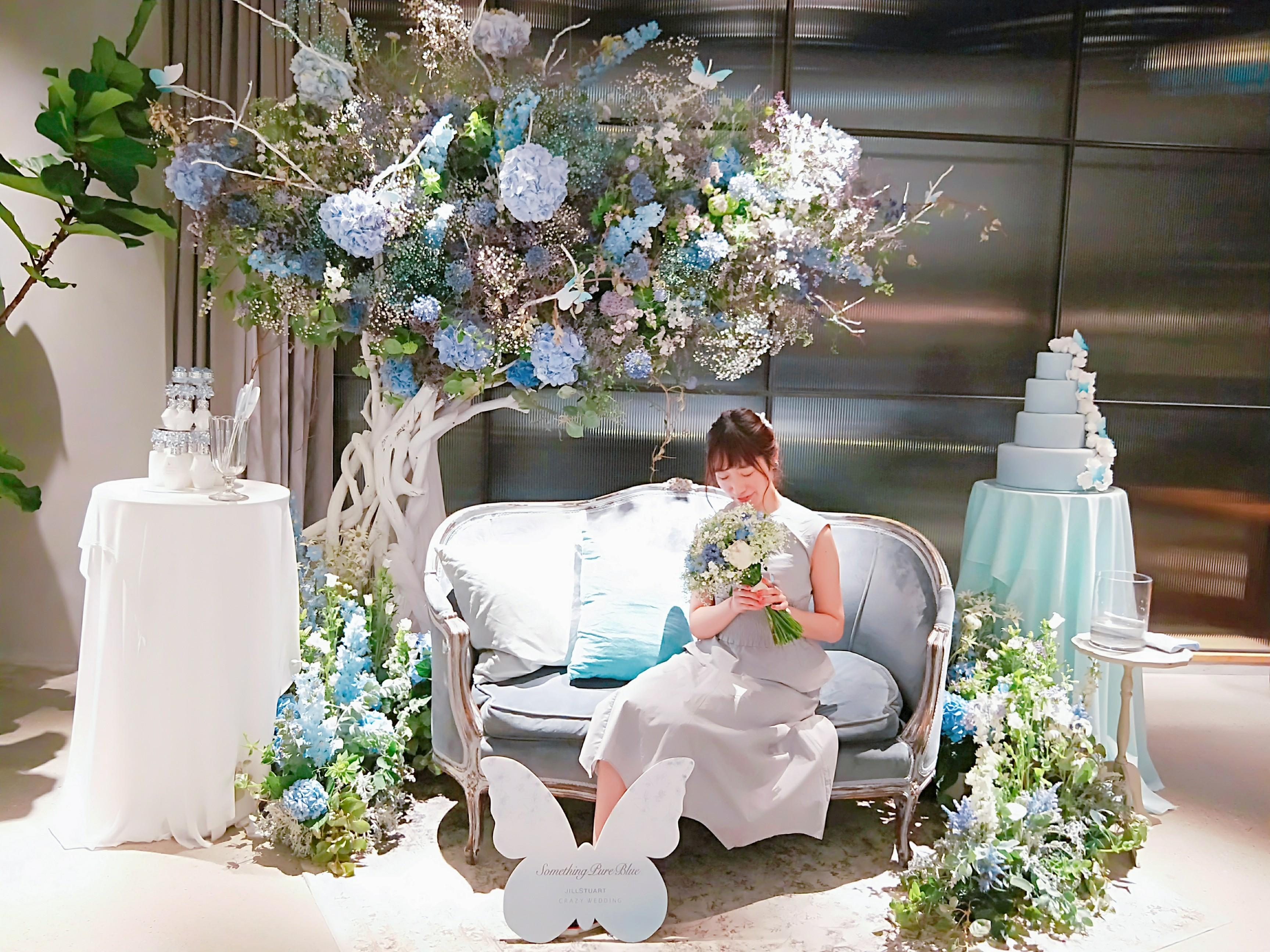 4/30まで!表参道でJILL STUART Beauty がCRAZY WEDDINGとコラボイベント開催中☆_7