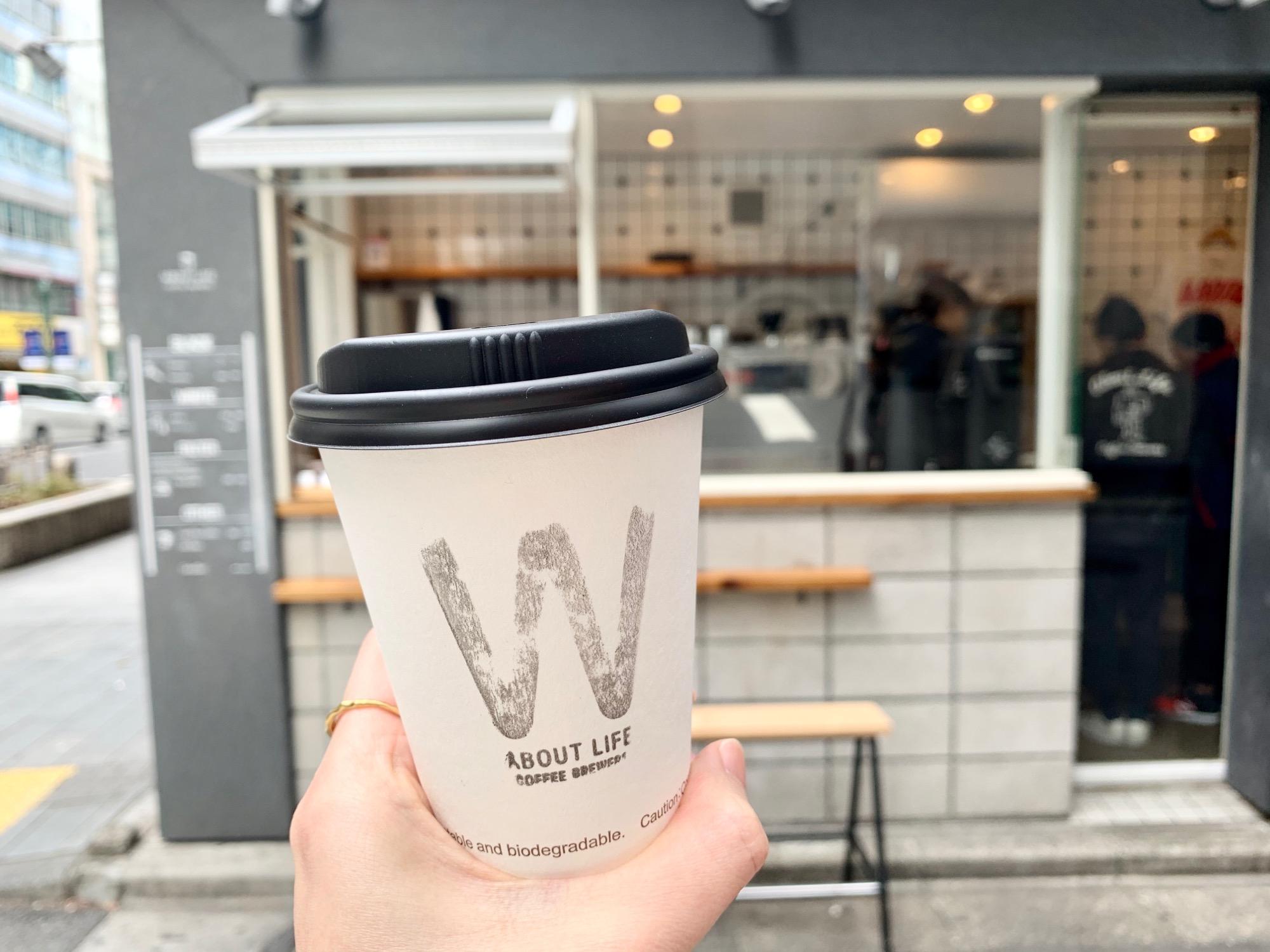 《ご当地MORE✩東京》渋谷で立ち寄りたい❤️おしゃれなコーヒースタンド【ABOUT LIFE COFFEE BREWERS】☻_1