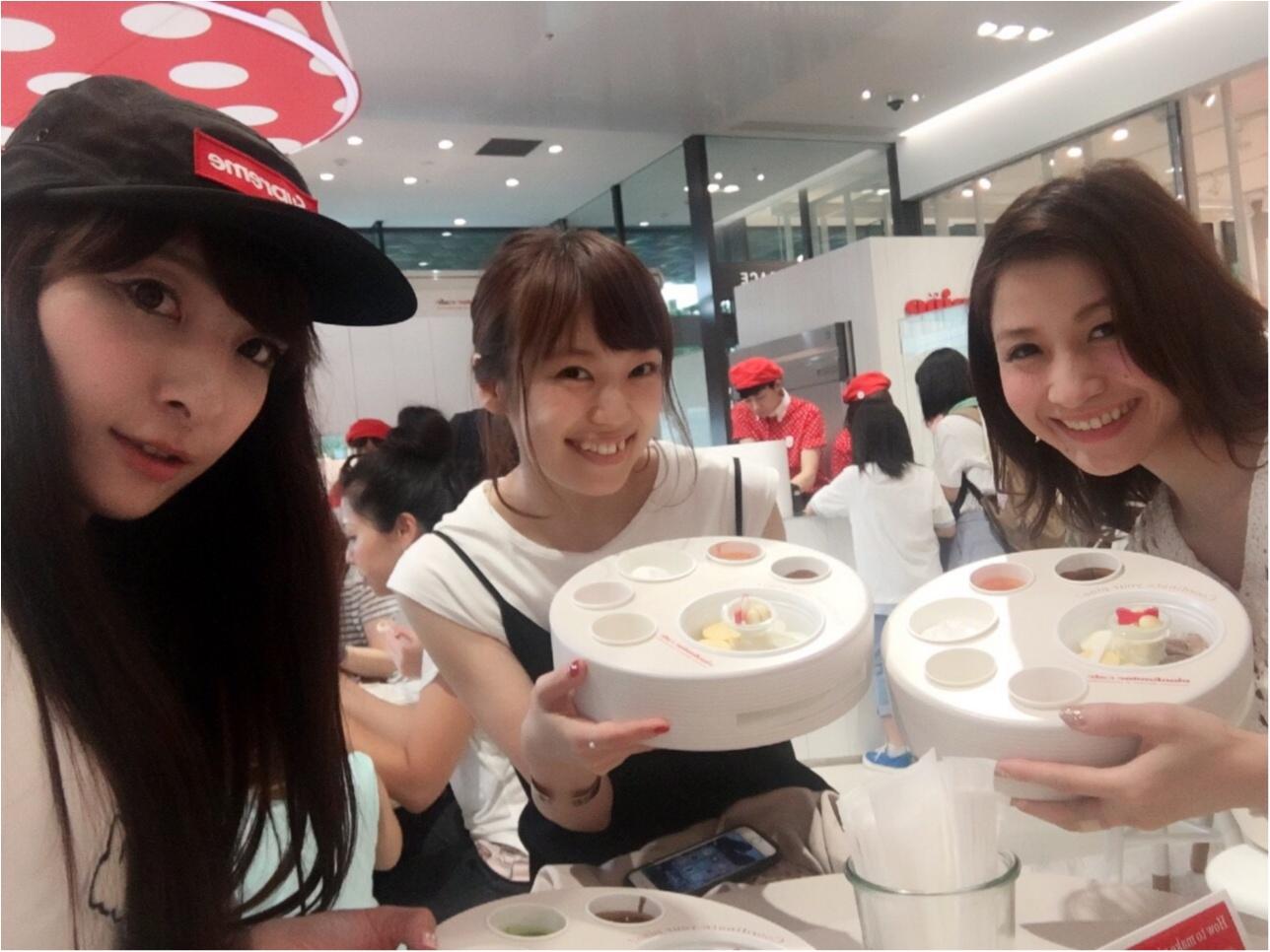 アイスの『pino』がつくった【ピノフォンデュカフェ】今年も東急プラザ表参道原宿3Fにオープン!大阪も今週末オープン✨≪samenyan≫_17