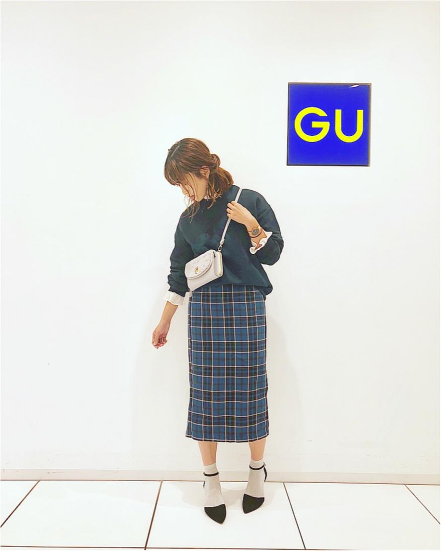 【GU】今の季節にぴったり❤️《マスト買いスウェット》3選!_6