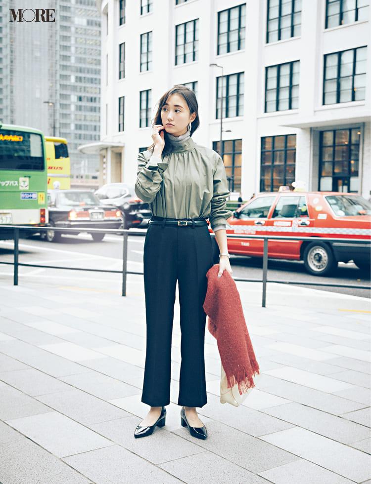 オフィスカジュアルのパンツ特集 - 20代女性におすすめブランドやおしゃれなレディースコーデまとめ | 2020年版_27