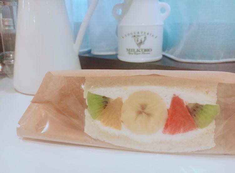 【おこもり飯】《フツウニフルウツ》のフルーツサンドをおうちで♡デリバリーをお願いしてみた!_4