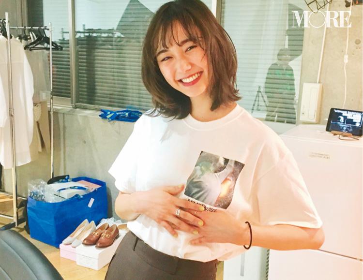 モア編集部が、鈴木友菜について密かに思っていたこと教えます☆【モデルのオフショット】_1