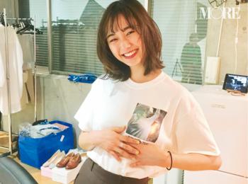 モア編集部が、鈴木友菜について密かに思っていたこと教えます☆【モデルのオフショット】