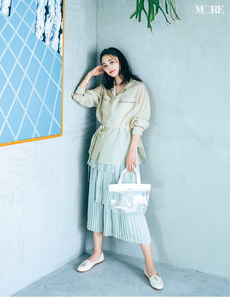 『メゾン ド フルール プチ ローブ』の甘くてほろ苦い夏コーデが、20代女子にちょうどいい♡_1