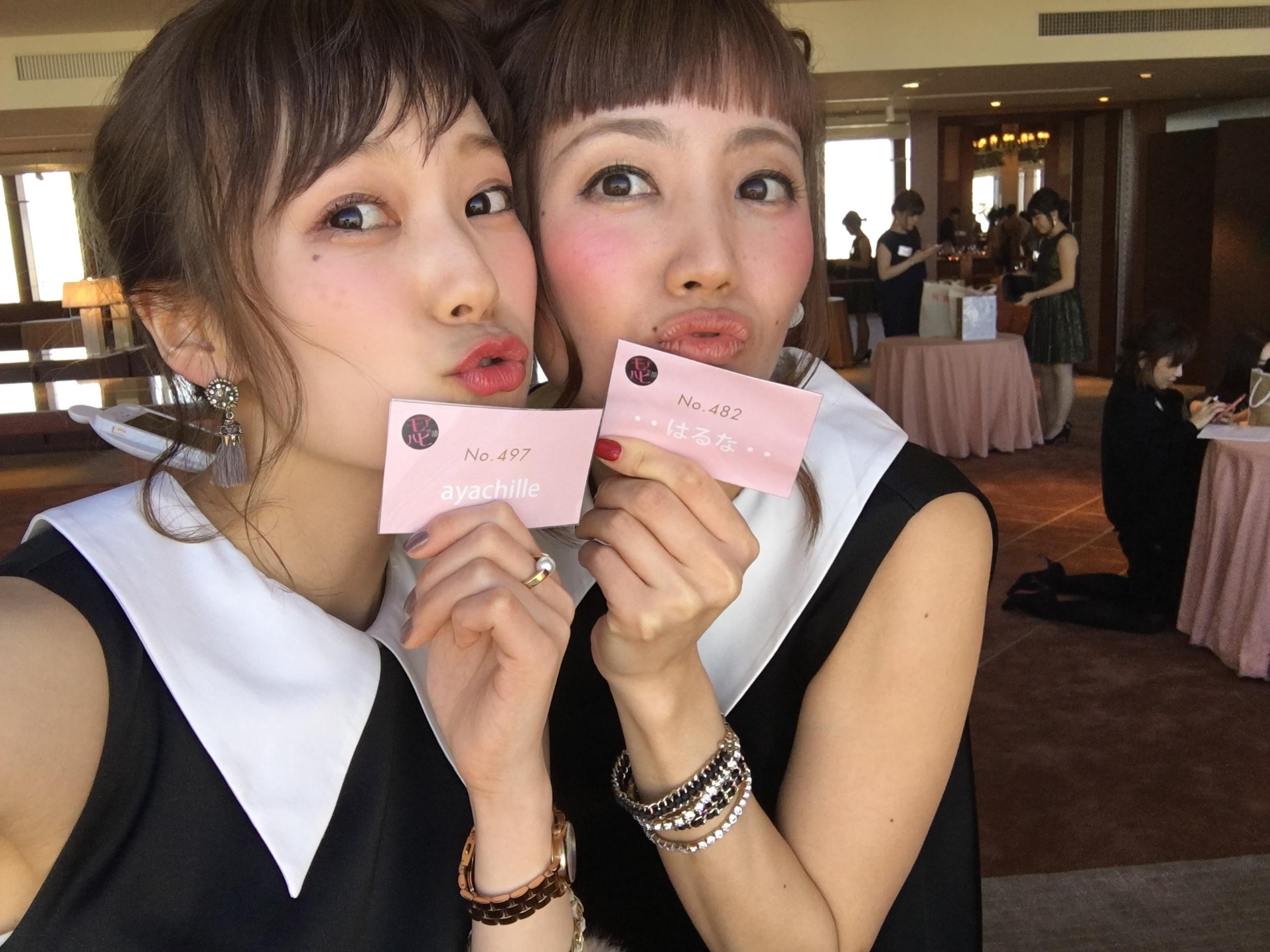 ★【MORE大女子会2017】今年は双子コーデで参加しちゃいました♥お相手はもちろん、、、^^_6