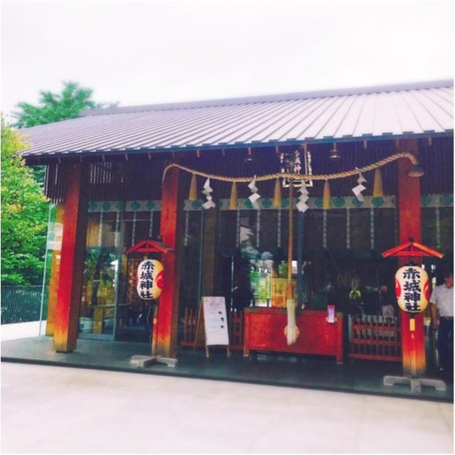 御朱印ガールデビュー☻日本一オシャレな神社!?として有名な「赤城神社」@神楽坂の御朱印帳が可愛いってウワサ♡_3