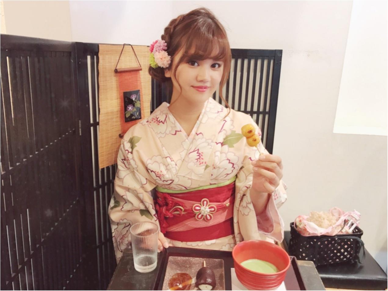 【レンタル着物】を着て浅草を満喫しました♡_5