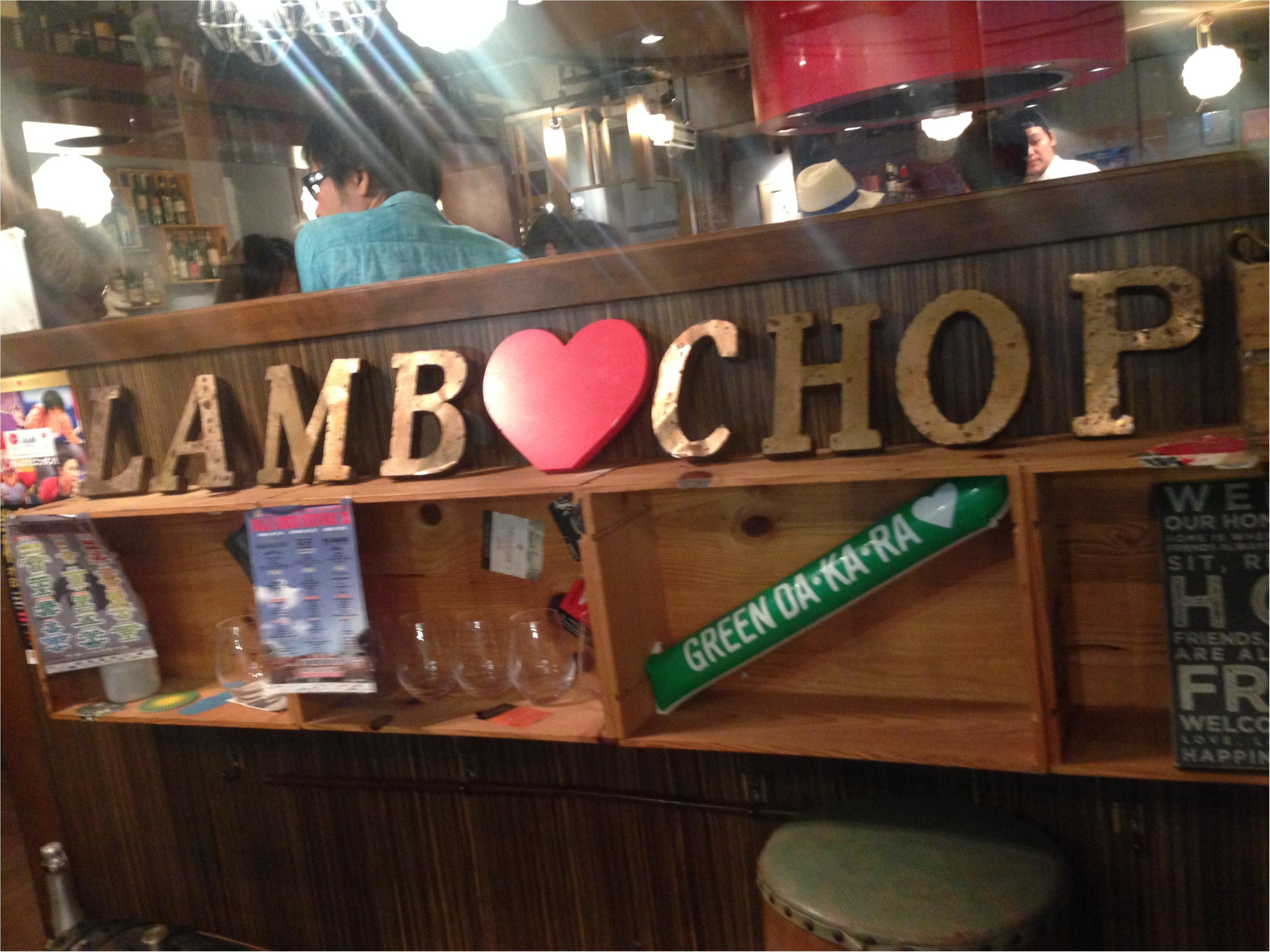 ヘルシーおいすぃー!ラムチョップを食べにいこう〜\(^o^)/_4