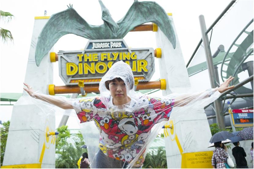 栞里、ユニバーサル・スタジオ・ジャパンで空を飛ぶ!【連載オフショット】_1