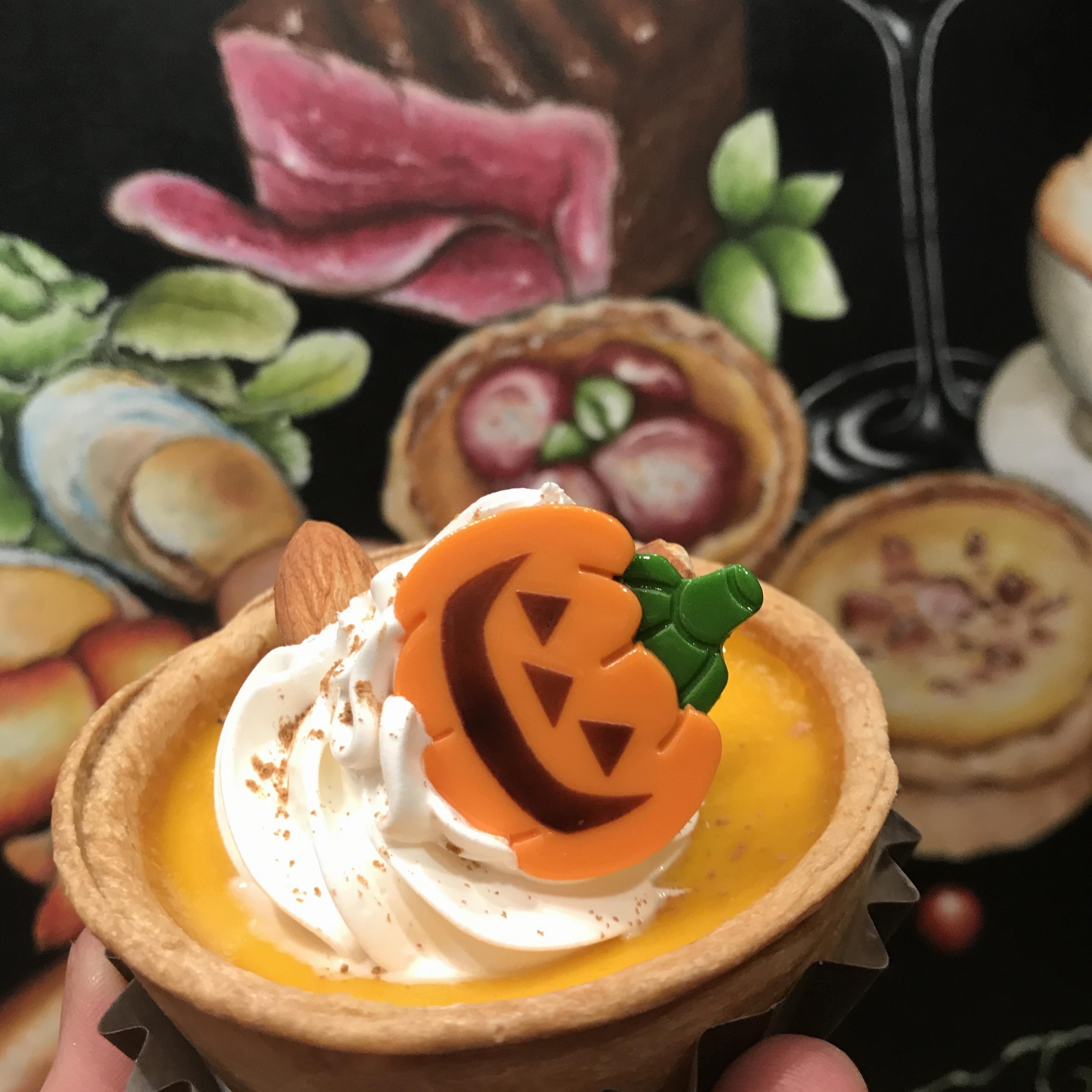 【FOOD】街もちゃくちゃくとハロウィンモード★キッシュ ヨロイズカでパンプキンキッシュを発見!_1