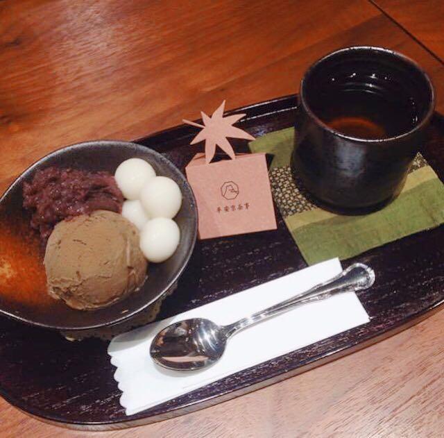 台湾女子旅におすすめ♪ 抹茶スイーツ専門店『平安京茶事』のアイス