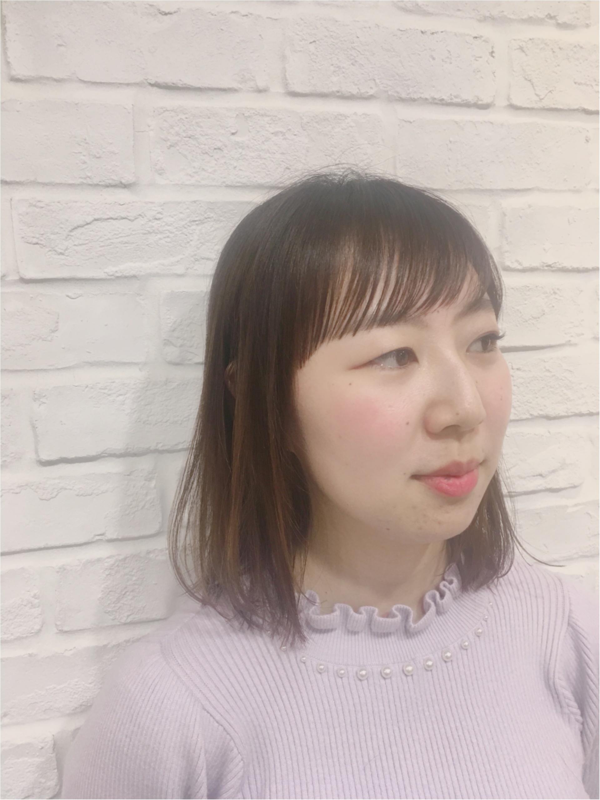 私に似合う髪型をお願いします!オーダー★伸ばしていた髪を15センチバッさり★_5