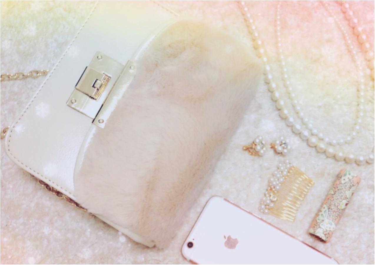 SNSで大人気!【Honeys】の《メトロポリス風》ファー付きバッグがプチプラ&可愛い❤️_6