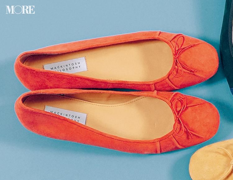 秋のぺたんこ靴なら【きれい色スエードバレエ靴】が断然可愛い♡ おすすめはこっくりカラー!_6