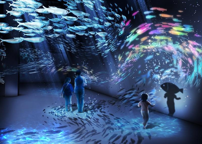 横浜デートや観光に♪ 体験型デジタルアート展「OCEAN BY NAKED 光の深海展」が日本初開催☆_4
