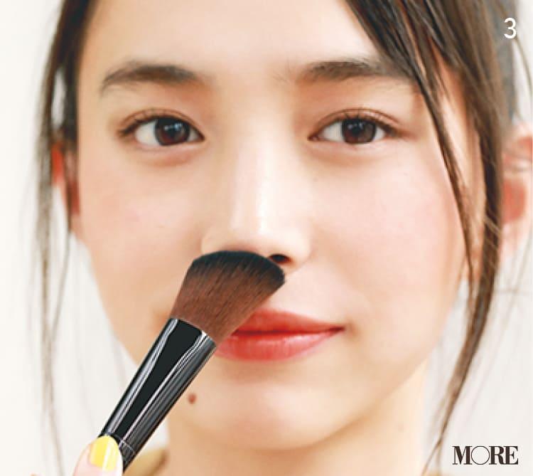 チークの入れ方【2020最新】- 顔型別の塗り方、リップと合わせる春の旬顔メイク方法まとめ_31