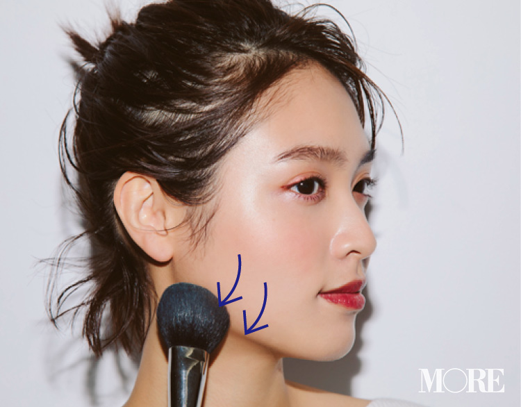 大人気ヘア&メイクpaku☆chanさんの「ハイライト&シェーディング、ここに入れてますMAP」で、ヘルシー小顔を手に入れよう♡ _5_2