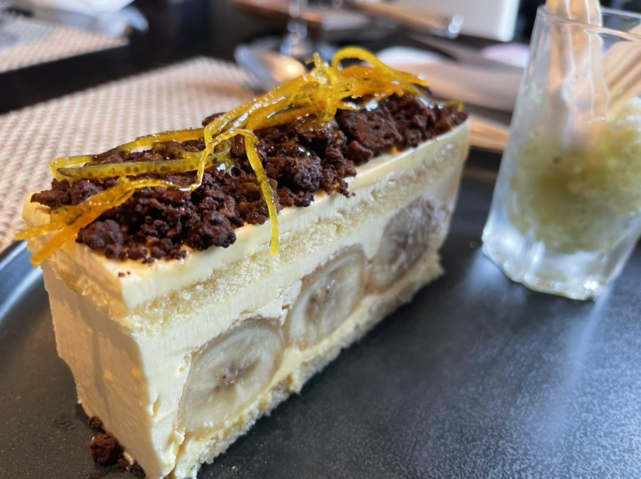 濃厚で大人な味わい。ラム酒薫るバナナのバタークリームケーキ_2
