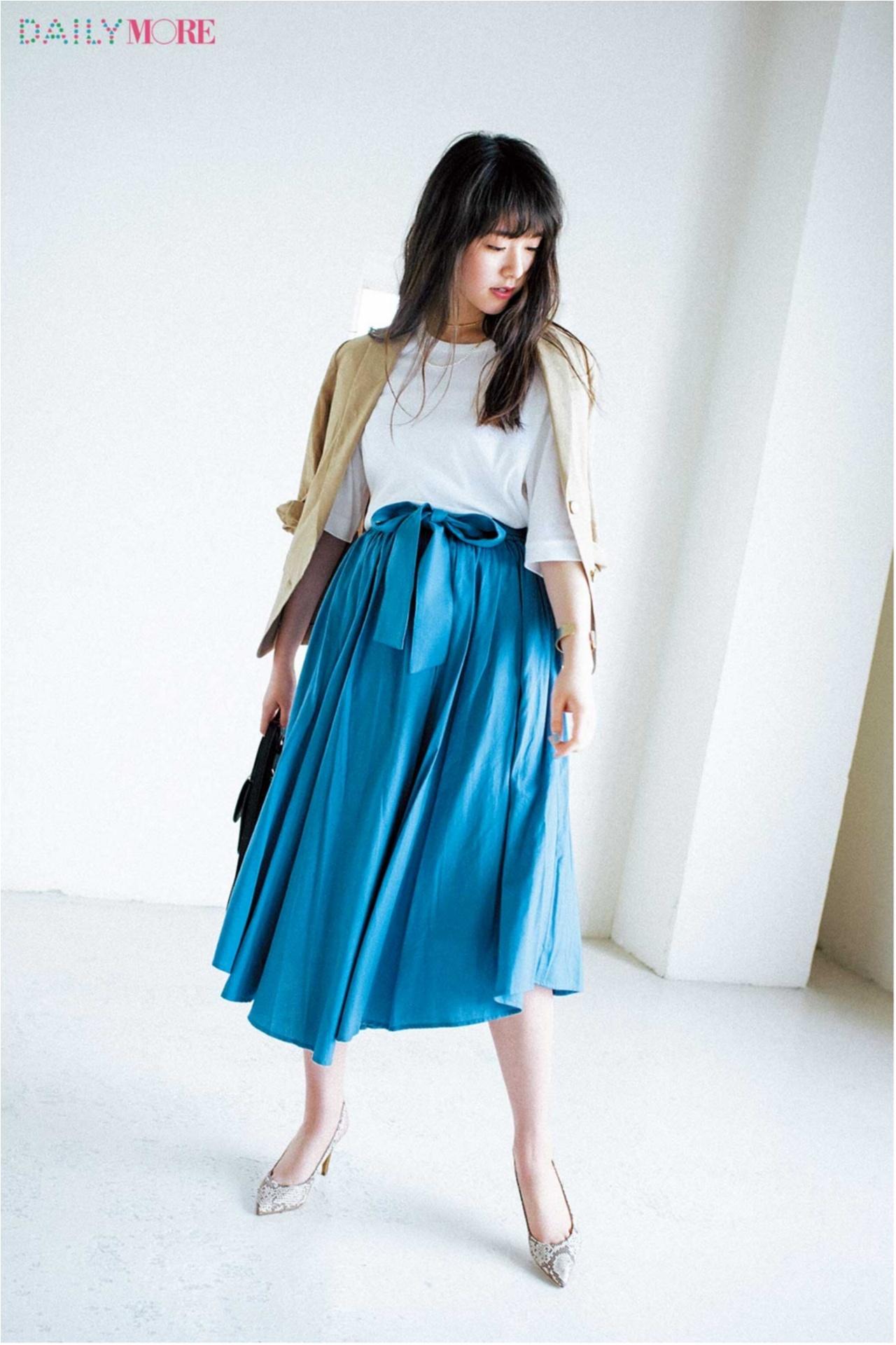 夏の好印象No.1カラー♪「ブルー」を使ったさわやかコーデまとめ♡_1_3