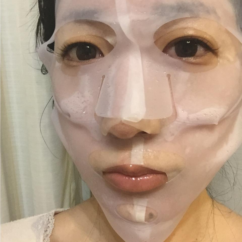 【ダイソー】いつものスキンケアやシートマスクの効果を¥100アイテムでUPさせちゃお✨しかも洗って繰り返し使える♩≪samenyan≫_3
