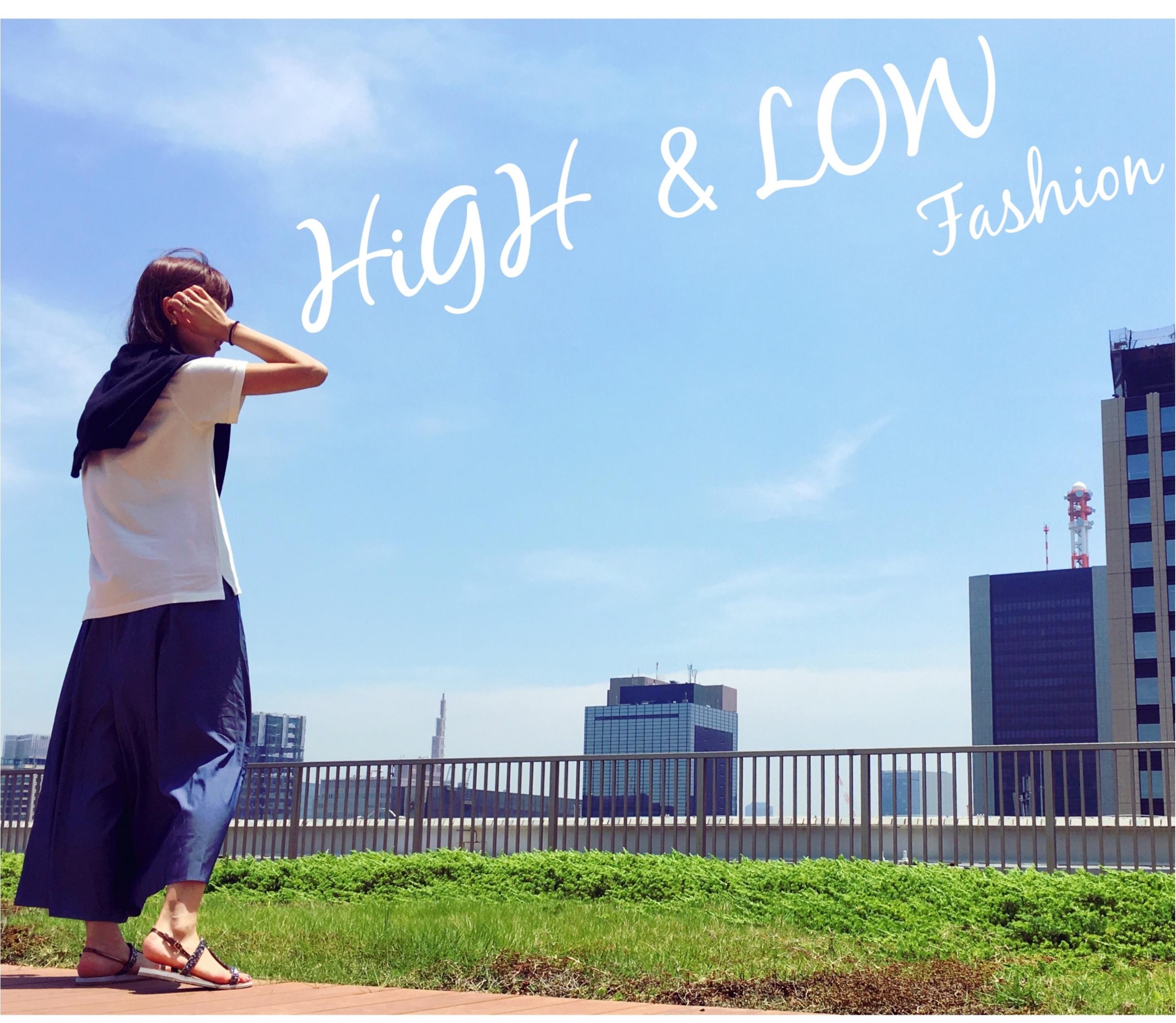 ▶︎▶︎今週の〈セルフネイル〉と〈guのTシャツ〉でHiGH&LOWコーデ【はるな】_6