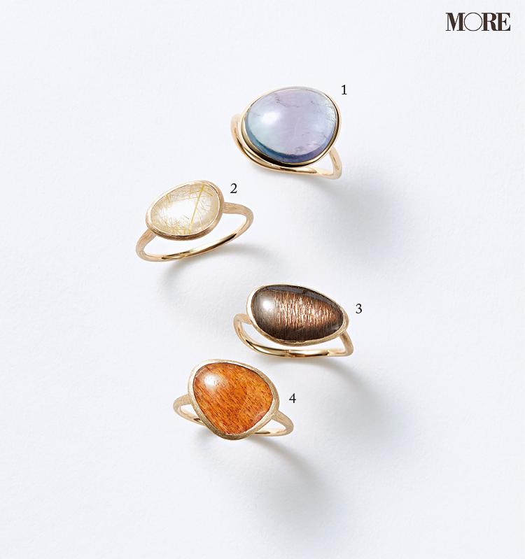 きれい色のリングもイヤカフも!『ete』の新作ジュエリーで春コーデにアクセントを_1