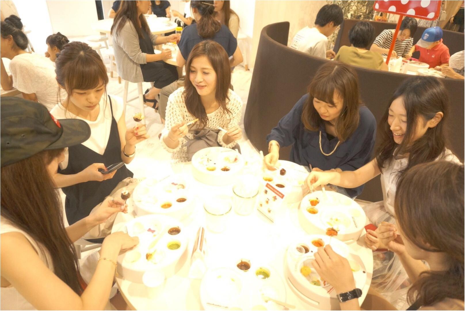 アイスの『pino』がつくった【ピノフォンデュカフェ】今年も東急プラザ表参道原宿3Fにオープン!大阪も今週末オープン✨≪samenyan≫_13
