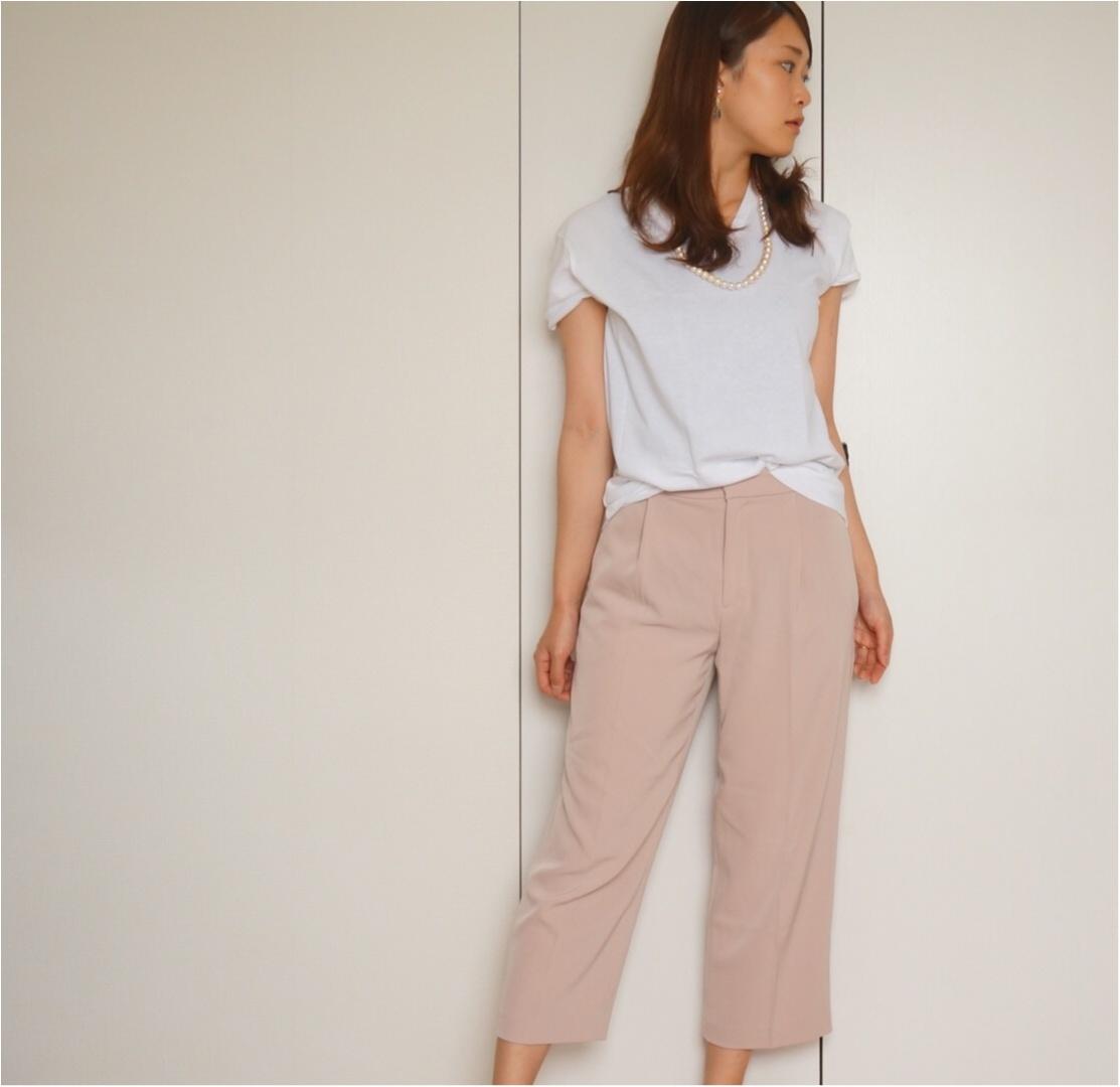 【MORE7月号】この夏白Tシャツは3枚必要‼︎まずは大人気UNIQLOパックTをゲット❤️_5