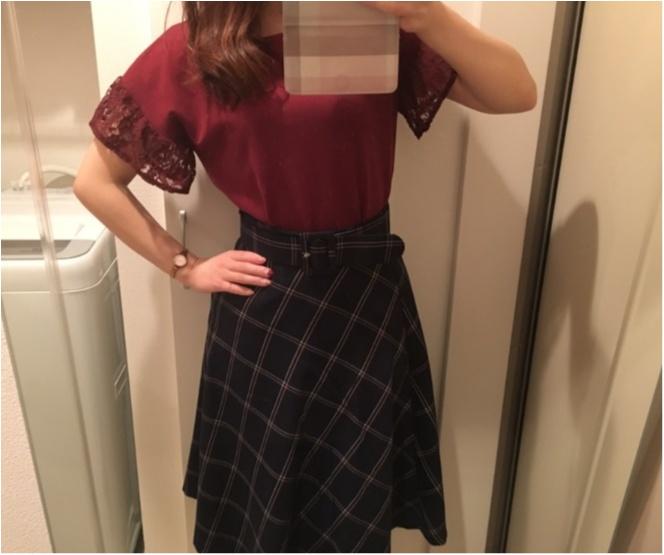 今年の流行!♥ミディ丈スカートで作る♡通勤コーデ4選(っ´ω`c)♡_7