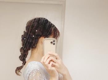 【結婚式】ヘアアレンジとドレス♡今年最後の投稿!