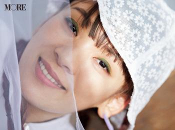 話題のフワちゃんがメイクで変身! いつもとは雰囲気の違う、ベビー可愛いアイメイクをチェック。