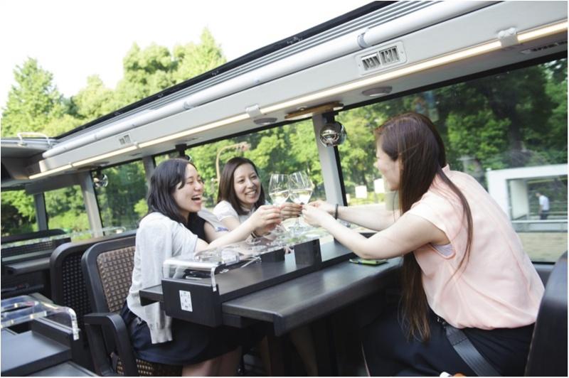 レストランバスで女子会