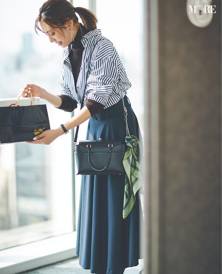 【2020】冬のオフィスカジュアル特集 - ユニクロなど20代女性におすすめの人気ブランドの最新コーデまとめ_74