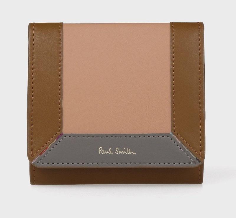ポールスミスのマルチカラー財布