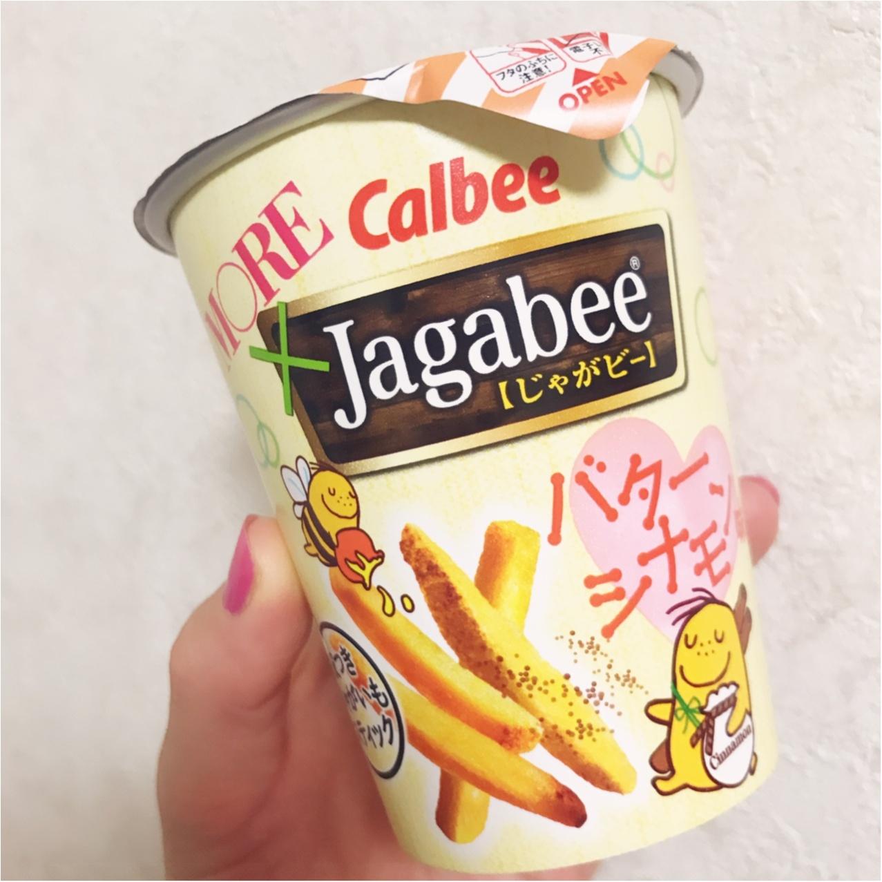 around27歳の小腹を満たす❤︎もう食べた?モアハピ部とコラボした《Jagabee バターシナモン味》♡_2