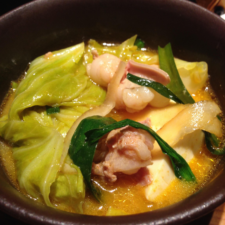 もつ鍋うまし!!夏はピリ辛旨なもつ鍋でしょ❤️博多の味をやまやで。_9