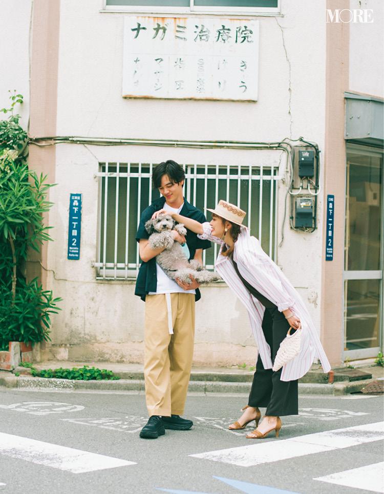 「衝撃のラスト!遠藤さんが連れてきたのは……♡」内田理央主演・毎日連載『ミスブラウンの愛され着回し』最終日_1