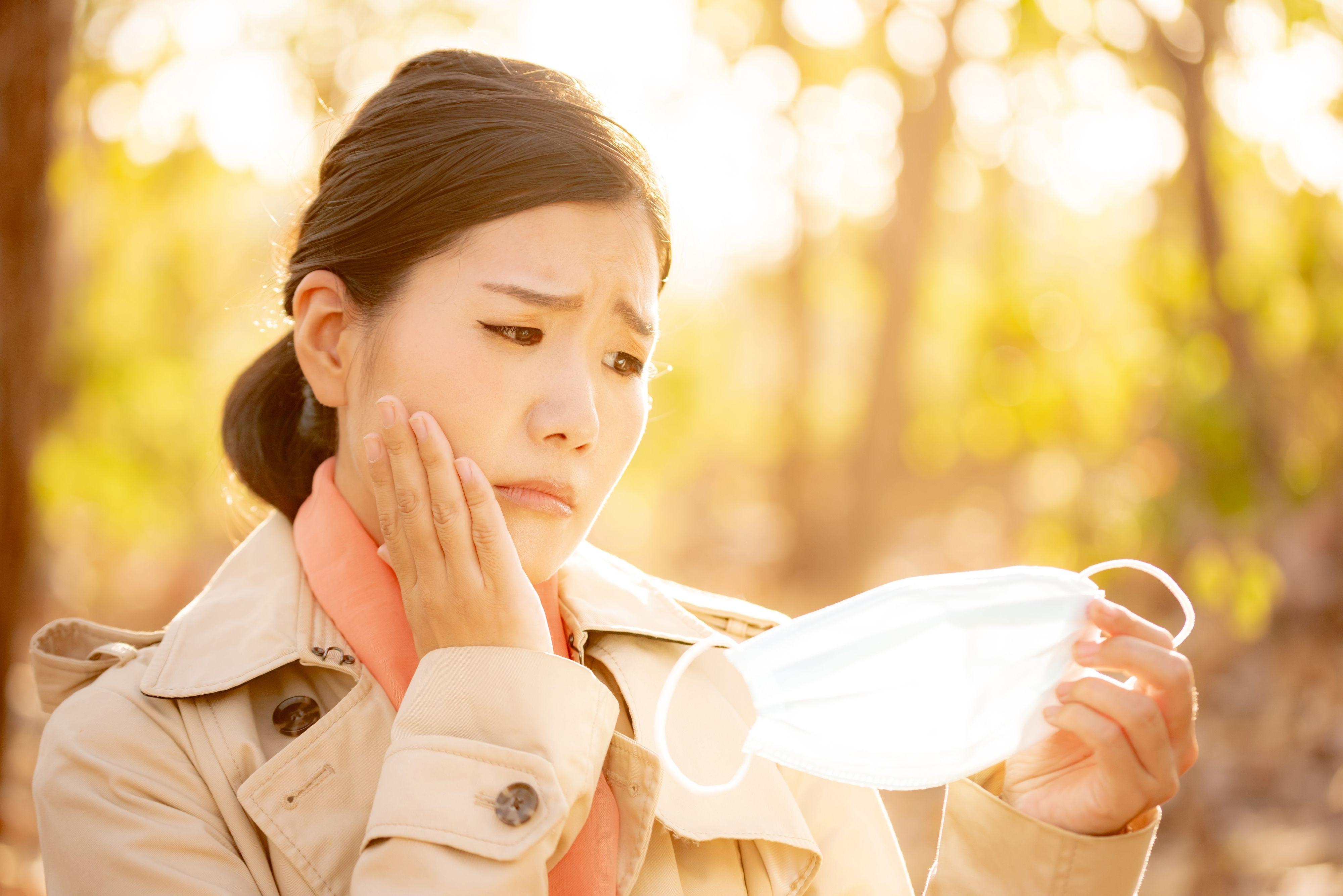 マスクで乾燥する肌の悩み