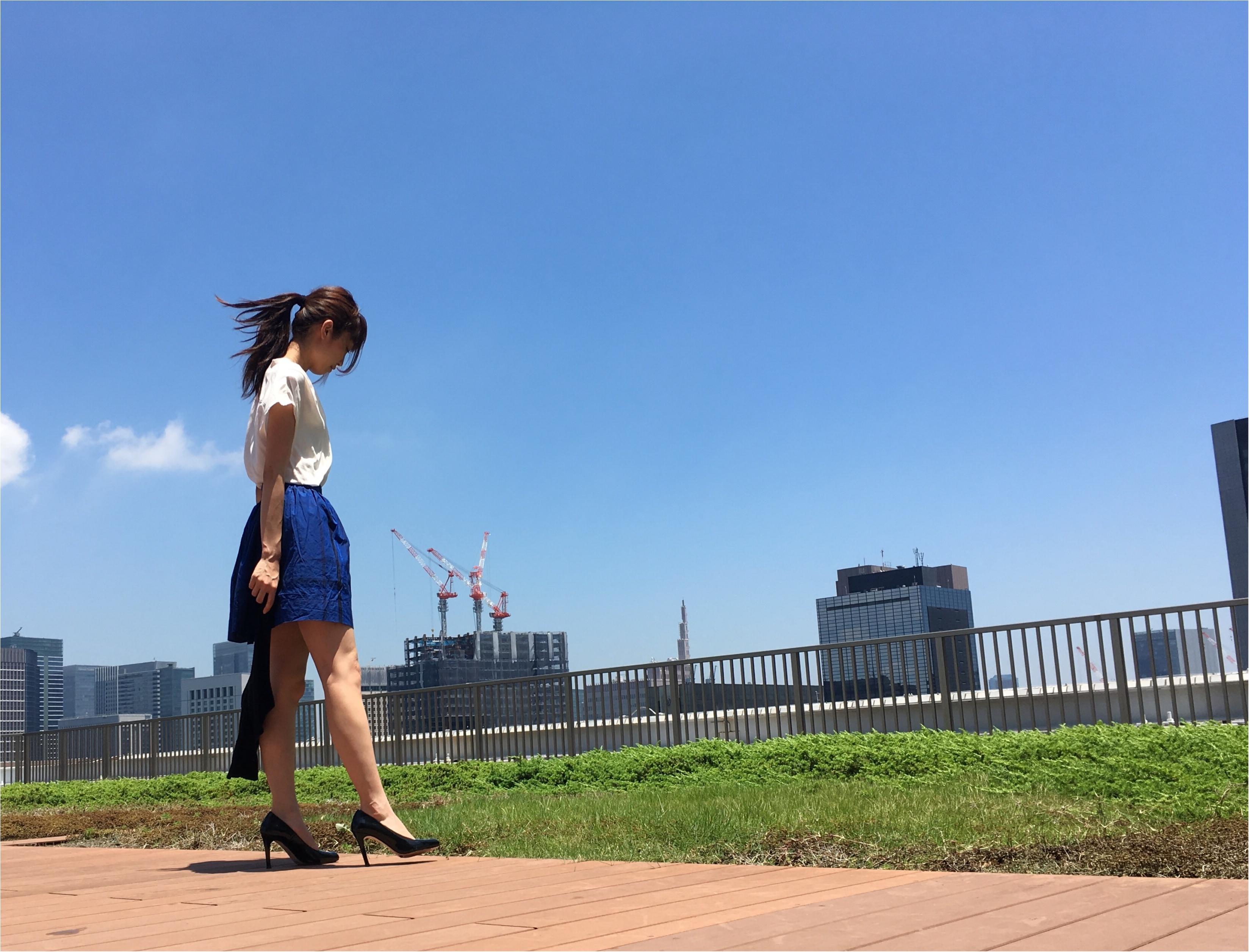▶▶≪RELAXX≫でヘアメンテと〈vis〉の白のトップスコーデ【はるな】_6