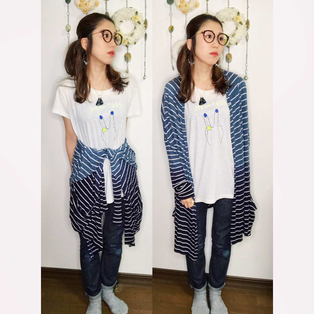 【オンナノコの休日ファッション】2020.5.21【うたうゆきこ】_1