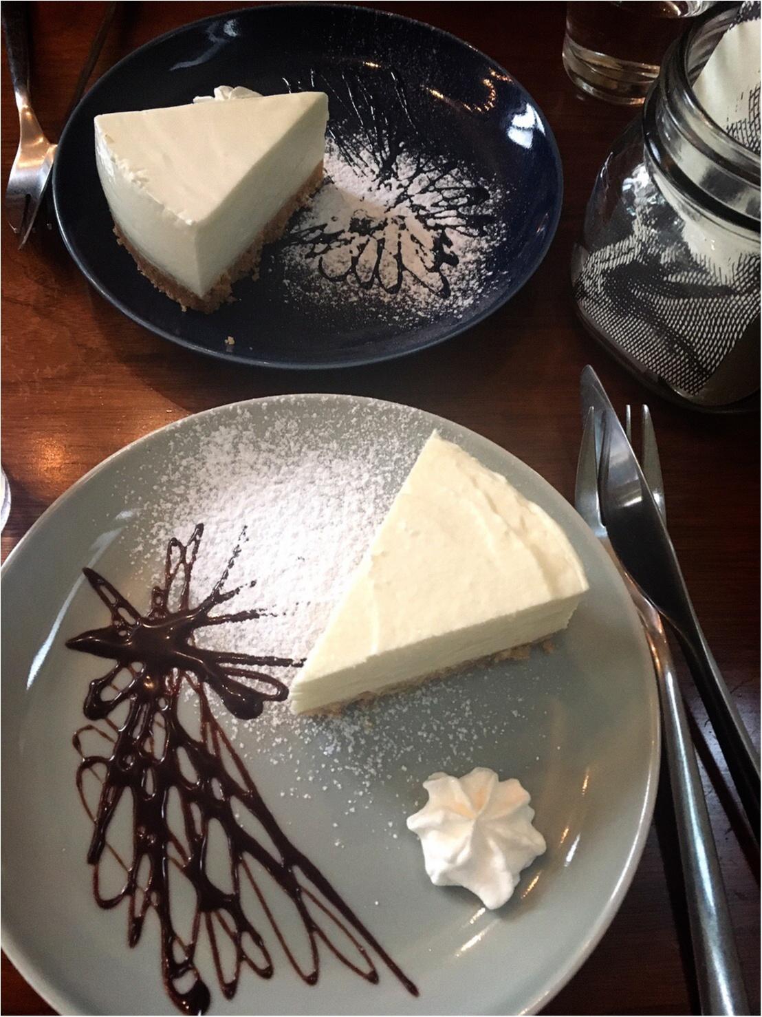 もお〜うまいもぉ♡【三軒茶屋】チーズケーキ専門店に初めていってみた♡_5_3