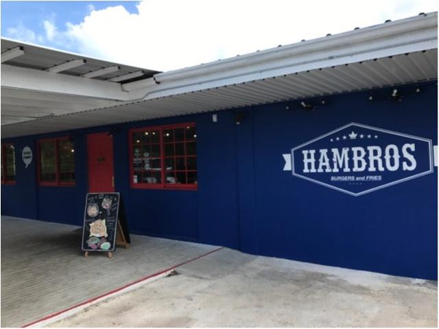 【TRIP】インスタ映え抜群◎ハンバーガー激戦地のグアムに新たに誕生した《HAMBROS》へ行ってきました★【グアム旅行記②】_2