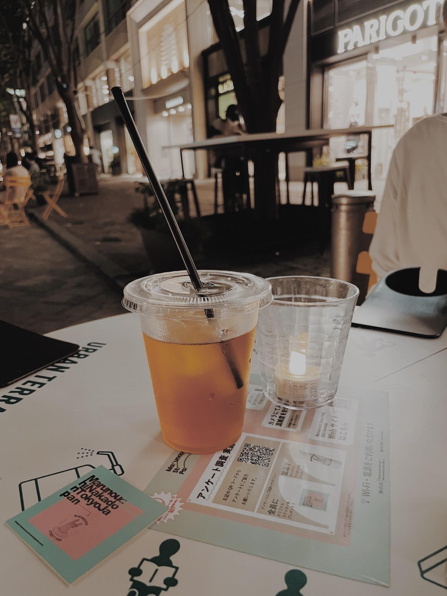 東京會舘で飲めるドリンク