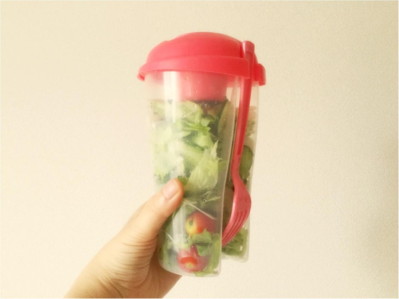 お野菜たっぷり!毎日サラダランチ♡*_1