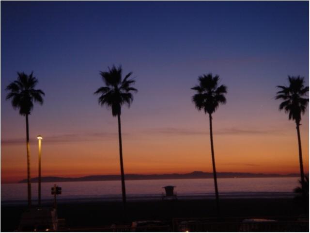 写真でも、きっと伝わるこの魅力✨朝から晩まで眺めた《*ロサンゼルスの広い空*》_12